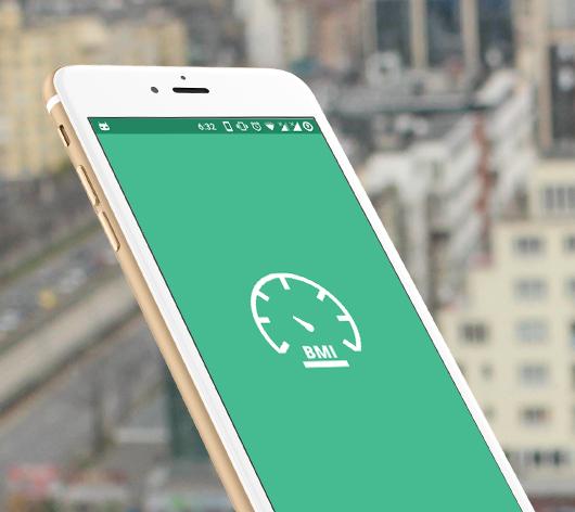 BMI, android health calculator application