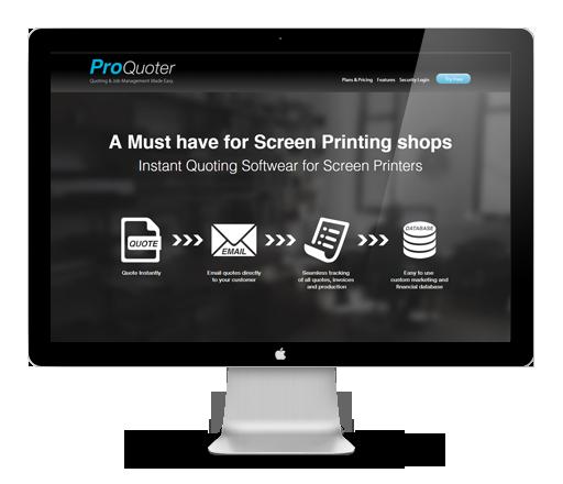 Proquoter, Custom CRM web application