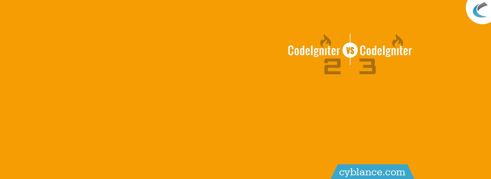 CodeIgntier 2.0 V/S CodeIgniter 3.0
